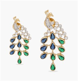 The Peacocks Pride Earring